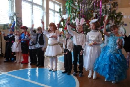 Сценарий праздник новый год в 1 классе